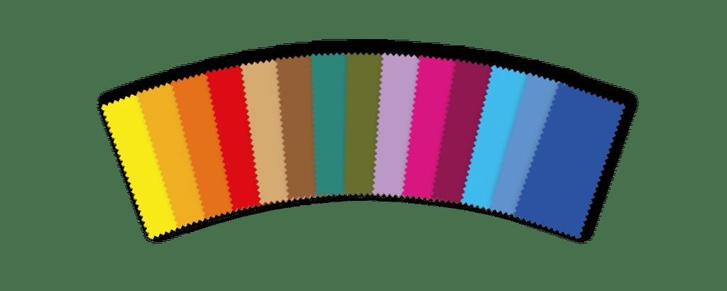 nuancier couleur teintures