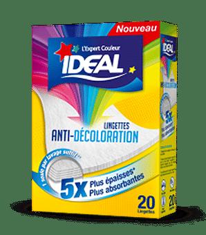 Produit Lingettes  anti-décoloration pour textiles