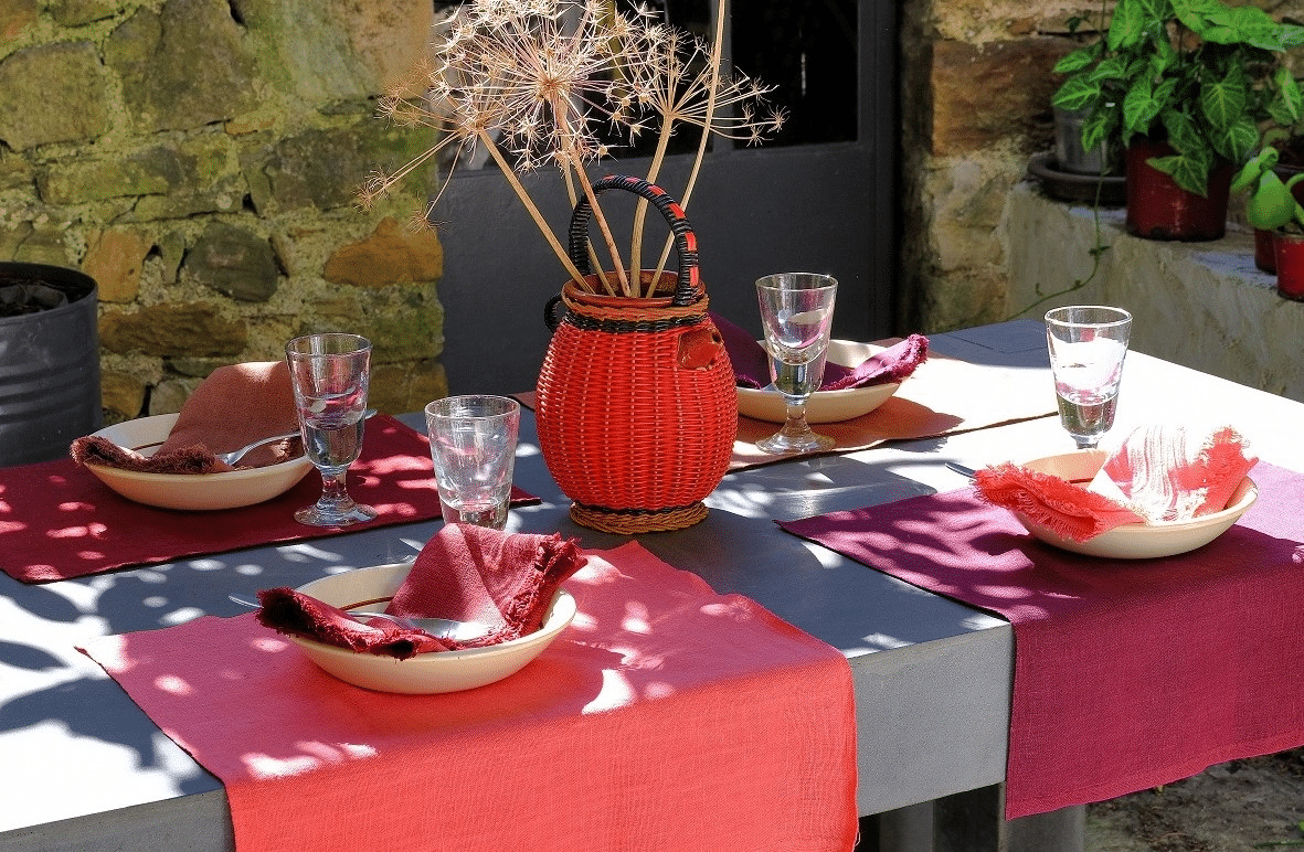 MA TABLE DE PRINTEMPS