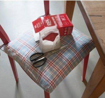Matériel requis pour la réalisation du sac à tarte