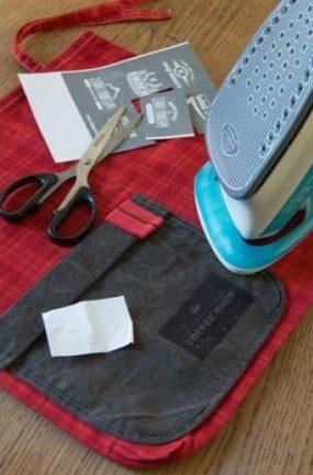 Imprimez et appliquez un transfert sur votre sac