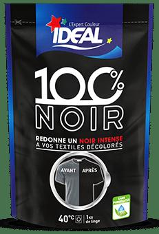 Produit Rénovateur  100% noir pour textiles