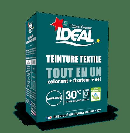 Teinture textile Tout en Un couleur émeraude