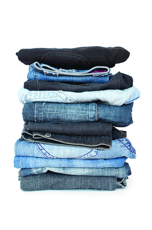 jeans bleu noir