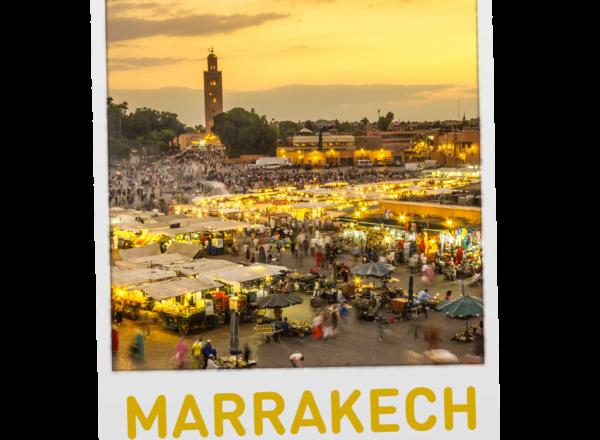 Gagnez un voyage à Marrakech
