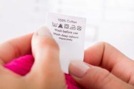 symboles etiquettes vetements