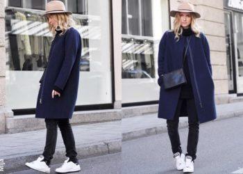 Le faux pas devenu fashion: mélanger du noir et du marine