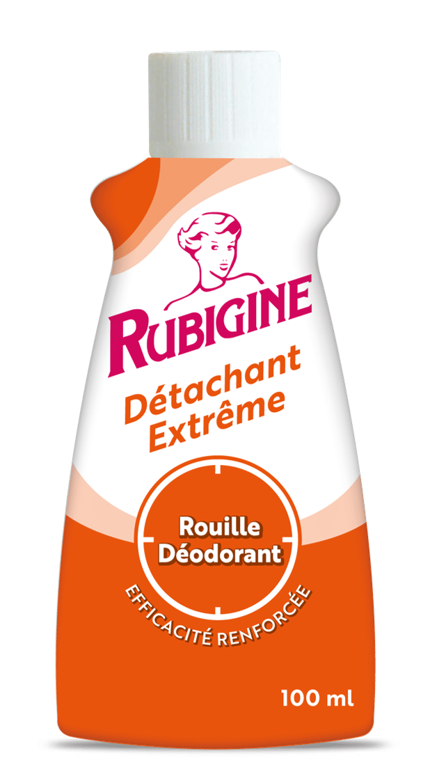 Emballage du produit Rubigine  rouille, déodorant